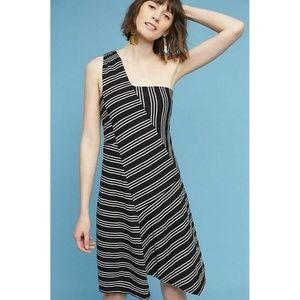 NWT Anthropologie Moka One Shoulder Dress